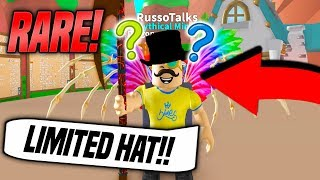 RAREST LIMITED HAT IN MINING SIMULATOR!! *CHALLENGE* (Roblox)