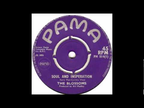 (You're My) Soul And Inspiration-The Blossoms-'1970P- 45-Pama 814 &1969-Bell 797
