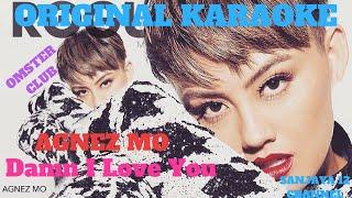 AGNEZ MO - Damn I Love You (Karaoke Version)