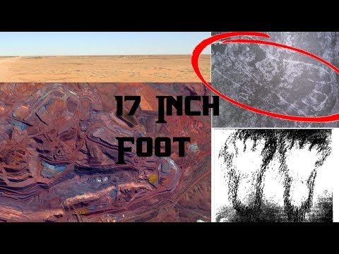 """Update: Australia DESTROYED CONTINENT: """"human"""" FOOTPRINTS found in, 250,000,000 years old COAL!"""