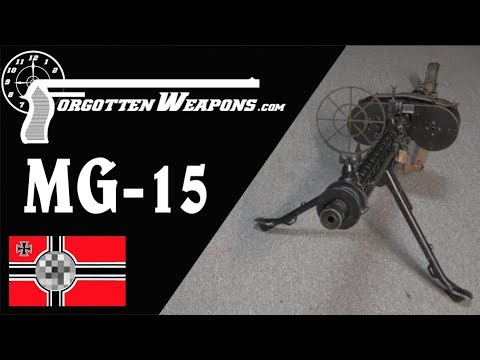 The MG-15: A Flexible Aircraft Machine Gun Pushed into Infantry Service