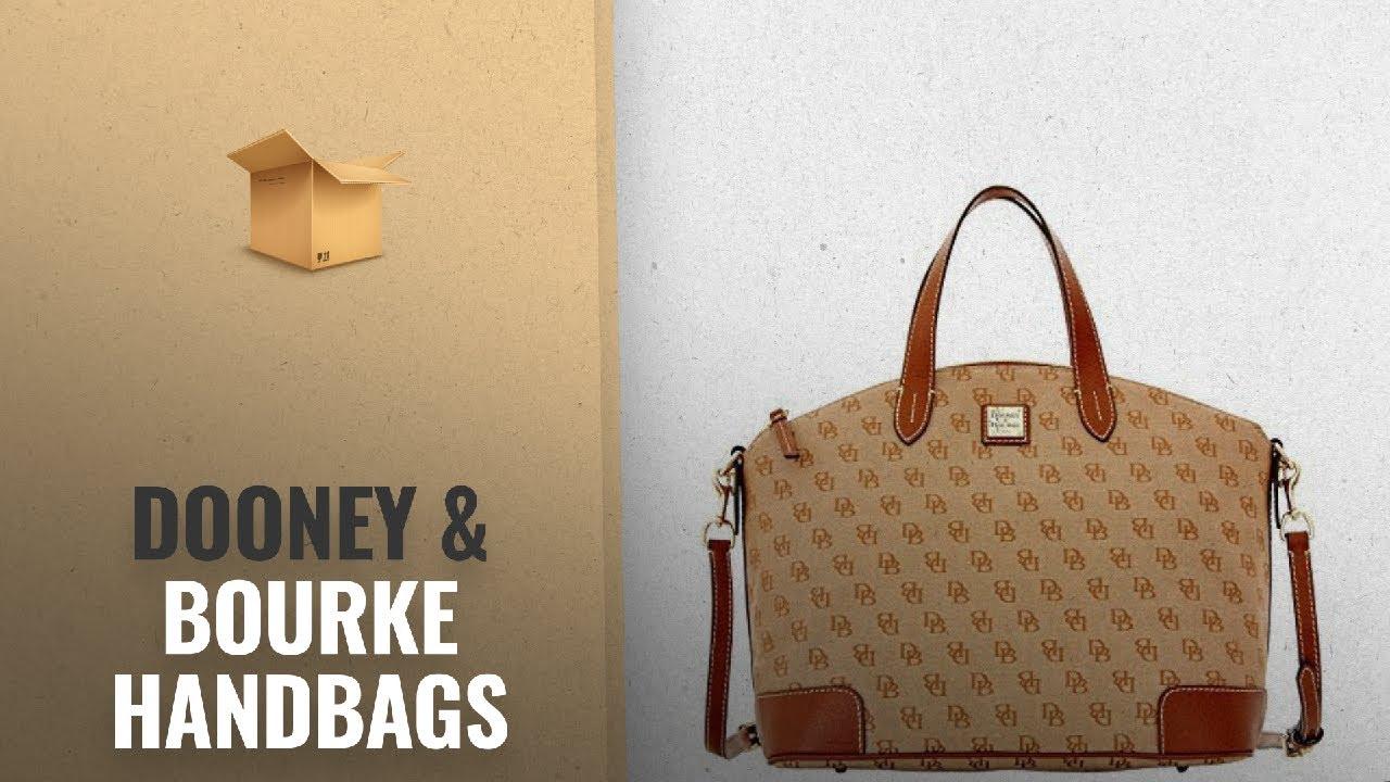 Top 10 Dooney Bourke Handbags 2018 Best Ers Madison Signature Large