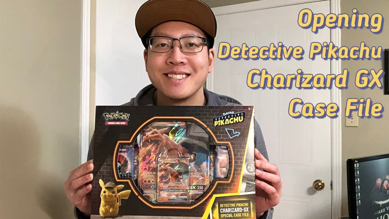 Detective Pikachu Charizard Gx Case File Youtube