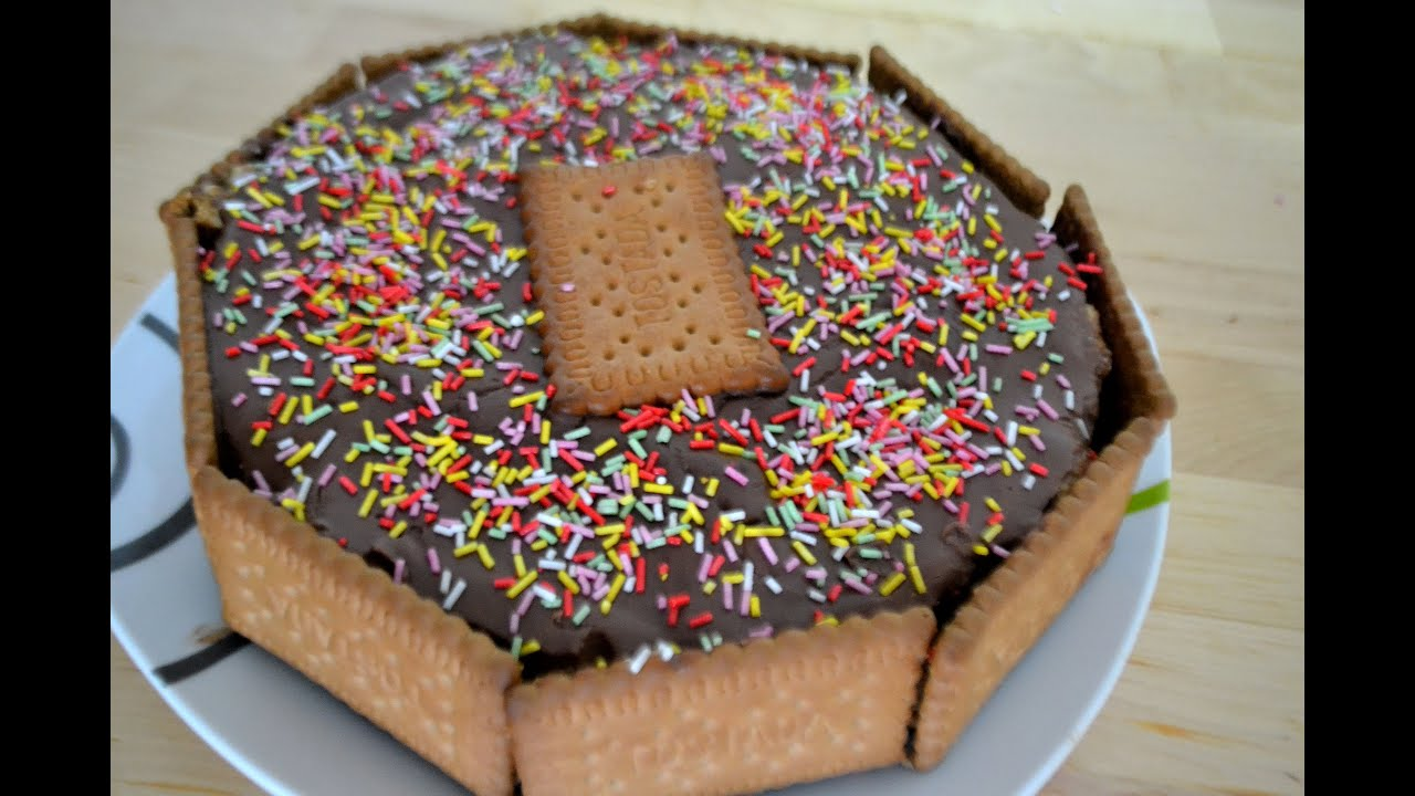 Como Decorar Tarta Con Fideos De Chocolate