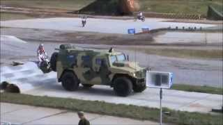 Tigr GAZ-2330 armoured vehicle personnel carrier Russian defence industry Engineering Technologies
