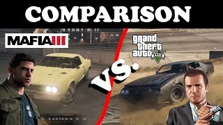 MAFIA III vs. GTA V (10.10.2016) Сравнение