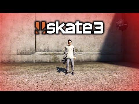 Skate 3 - EASTER EGG FOUND! *EDIT SKATER START SCREEN FOUND*