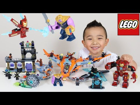 5 LEGO Avengers Infinity War Sets Thanos Battle For Infinity