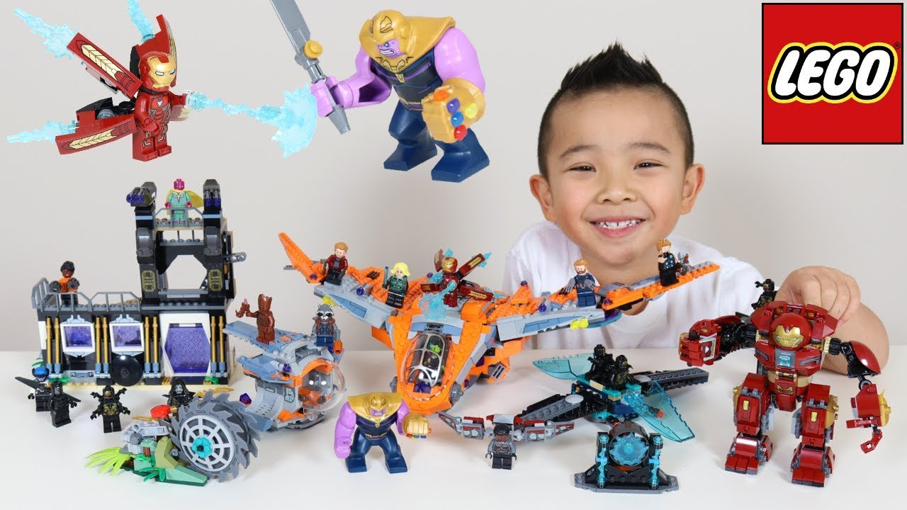 Download 5 LEGO Avengers Infinity War Sets Thanos Battle For Infinity Gems Ckn Toys