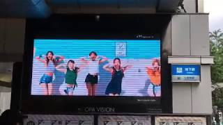 TWICE「#TWICE」SPOT MOVIE 心斎橋 OPA