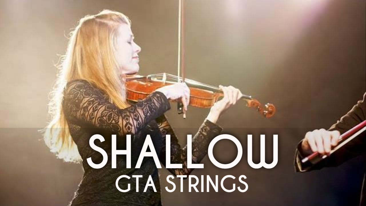 Shallow (Lady Gaga, Bradley Cooper) String Quartet COVER by GTA Strings