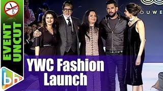 Amitabh Bachchan  Deepika Padukone  Yuvraj Singh's Ywc Fashion Launch