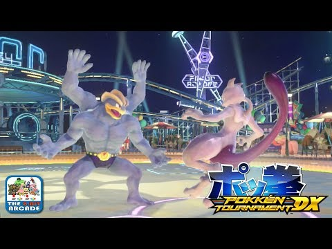 Pokken Tournament DX - Dominating and Ranking Up in Green League (Nintendo Switch Gameplay)