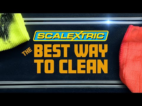 How to Clean Scalextric Track | The BEST WAY