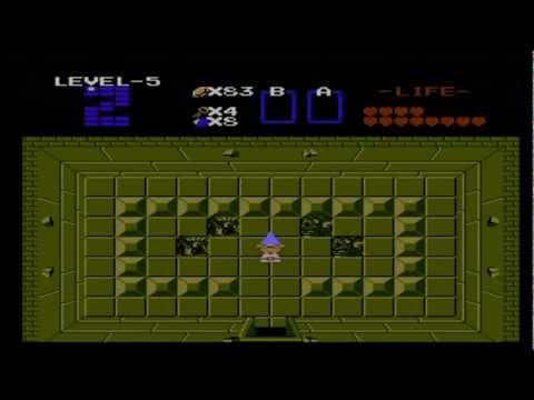The Legend of Zelda NES Second Quest Walkthrough Part 5/9