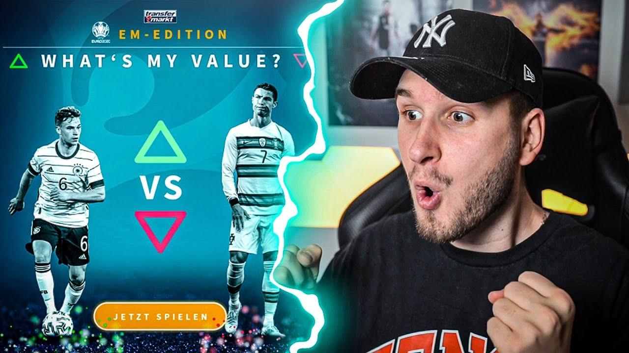 EURO 2021 EDITION 🔥🔥 Transfermarkt Whats My Value Quiz