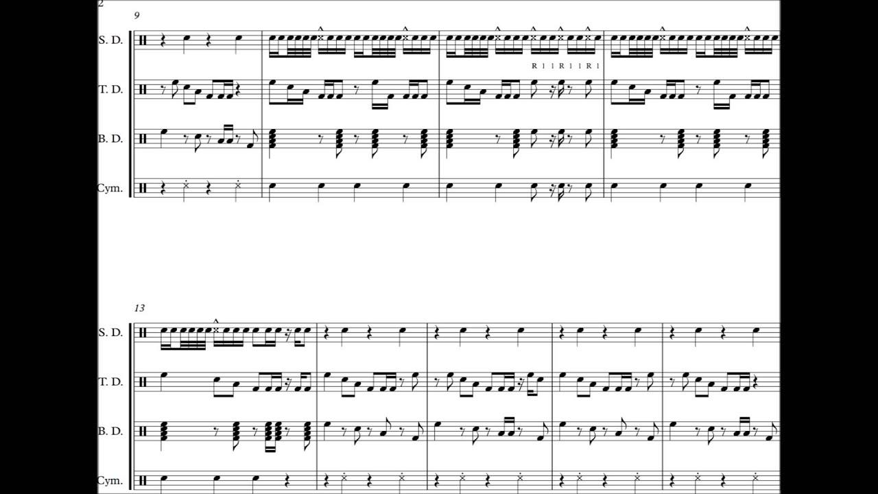 Drumline cadence
