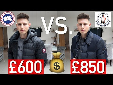 MONCLER Vs CANADA GOOSE | Which Brand Is Better?