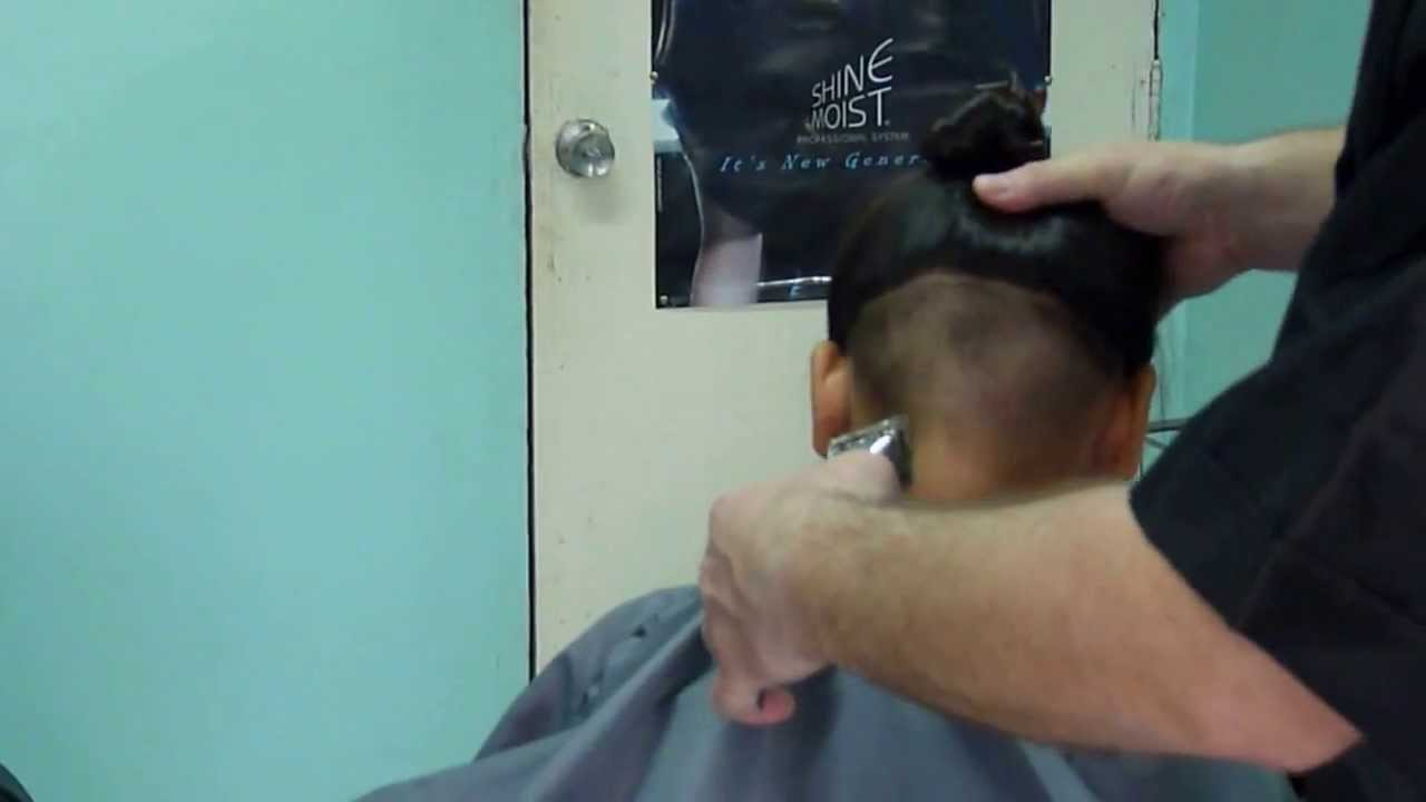 Manual Hair Clippers Cut