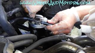 How to change fuel filter for Audi A6 (C6 4F 2.0 tdi)