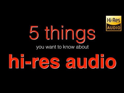 5 things you want to know about hires audio