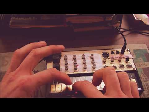 How to write Synth Lead Lines on the KORG Volca Keys #4 By SEBAHAR