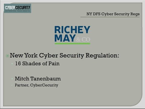 2017 03 09 12 01 New York DFS Cyber Security Regulation  16 Shades of Pain