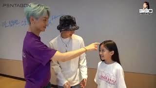 Boy Group Being Fanboy of Na Haeun