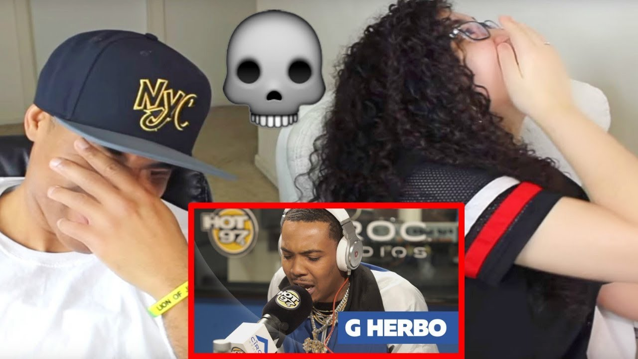 G HERBO FREESTYLES ON FUNK FLEX REACTION   #FREESTYLE104   MY DAD REACTS