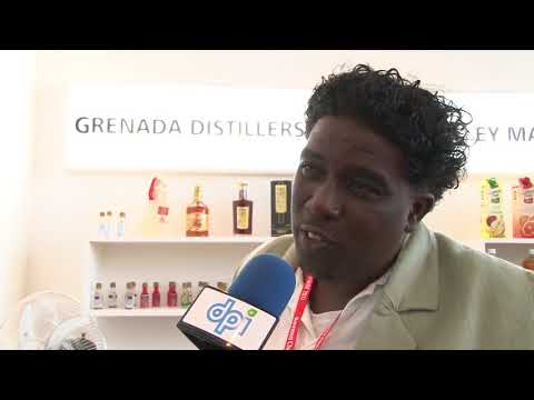 Grenada Distillers Limited's representative spoke to DPI at FIHAV2017, Havana, Cuba.