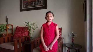 Download Hindi Video Songs - Niharika sings Mahalaya song