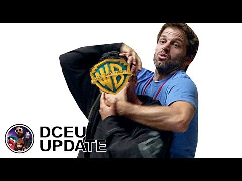 DCEU: SNYDER RETURN? AQUAMAN Box Office! WONDER WOMAN 1984 Photos!