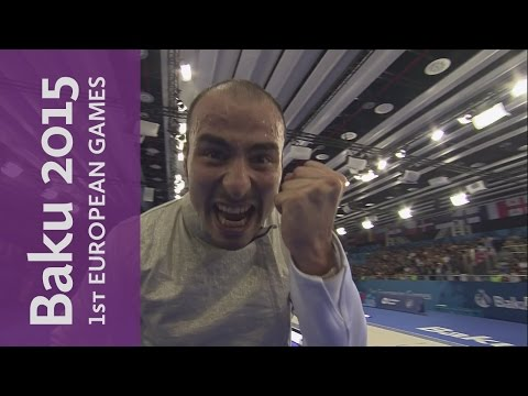 Men's Individual Foil Final Full Replay | Fencing | Baku 2015 European Games