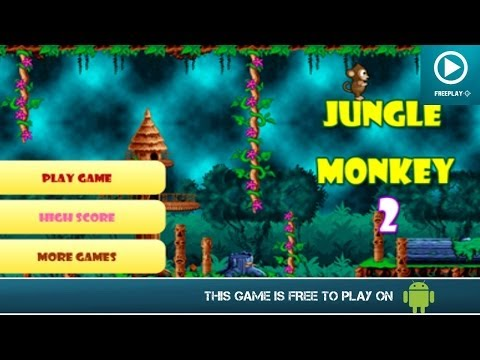 Jungle Monkey 2 - Free on Android - HD Gameplay