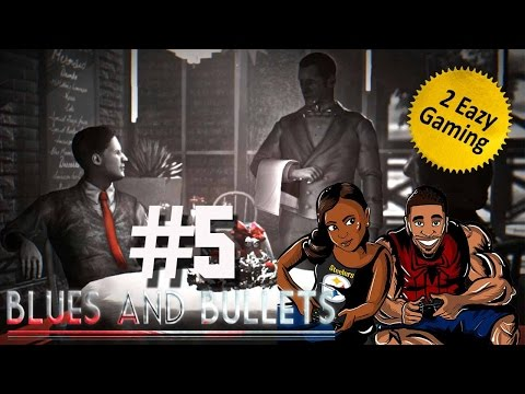 Blues and Bullets - Walkthroug / Playthrough - Episode 2 - Part 1 - Win Your Copy
