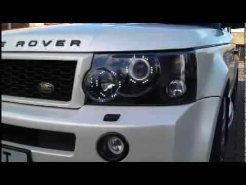 Range Rover Sport Drl Headlight Conversions 2005 2009