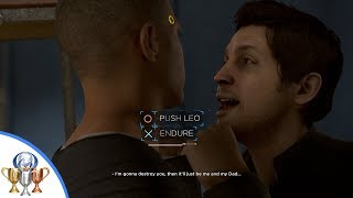 Detroit Become Human - Both Endings in Broken - Defend Yourself & Self-Control (Push or Endure Leo)