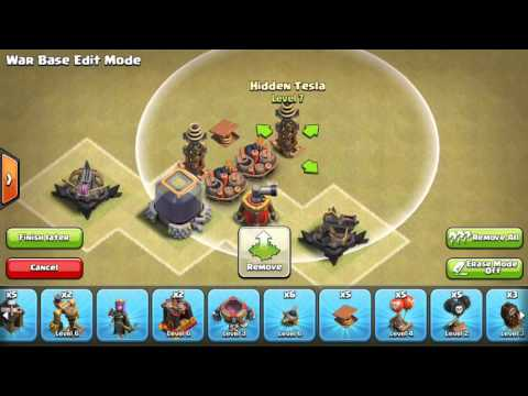 Three-Way Double Giant Bomb Set Guide - Clash of Clans