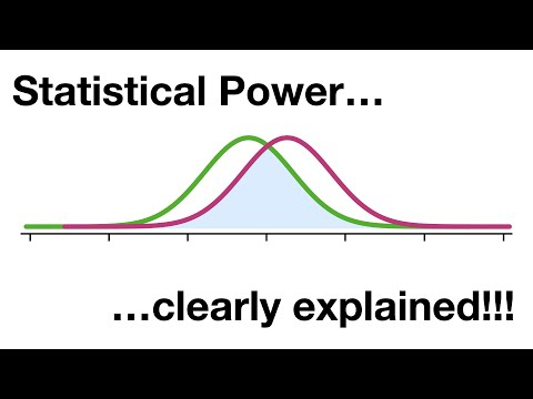 Statistical Power, Clearly Explained!!!