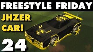 Rocket League | Freestyle Friday 24 | JHZER Car!