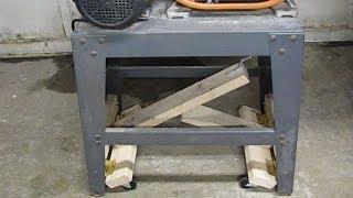 Lever-action Mobile Bandsaw Base