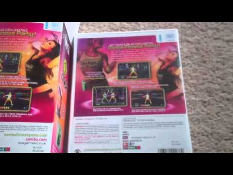 Zumba Fitness Wii Unboxing.