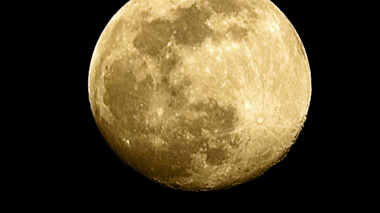 Super Luna piena aprile 2020 - Ripresa con Canon sx720 - YouTube