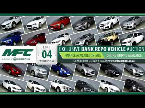 Repo Car Auctions >> Mfc Jhb Bank Repo Vehicle Auction 4 April 2018