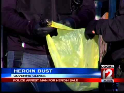 Cleves police raid suspected heroin house