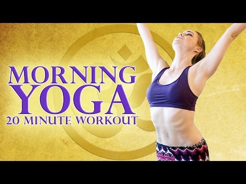 Beginners Morning Yoga Workout 20 Minute Stretch For Energy & Weight Loss - Joy of Yoga