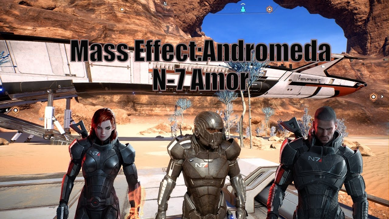 How To Get Shepard N7 Armor In Mass Effect Andromeda
