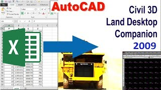 How To Import Coordinates From Excel To Text File To Autocad