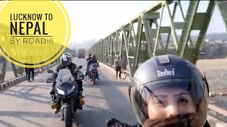 LUCKNOW to NEPAL as a Pillion