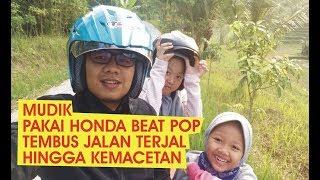 Honda Beat Pop, Tangguh untuk Mudik